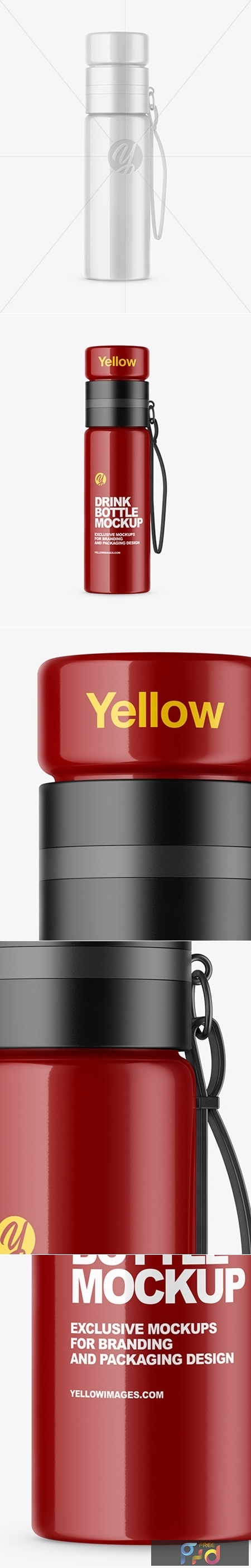 Download Yellowimages Mockups Sport Nutrition Matte Plastic Jar Front View Yellowimages PSD Mockup Templates