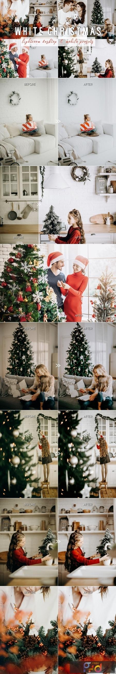 WHITE CHRISTMAS Lightroom Presets 4418467 1
