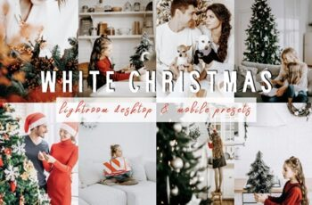 WHITE CHRISTMAS Lightroom Presets 4418467 5