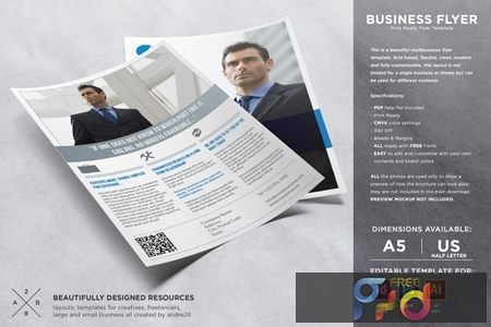 Marketing Flyer Template ERCTDUY 1