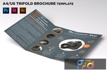 Shop Trifold Brochure Template 86G9W9H 3