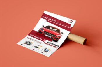 Car & Auto Repair Flyer