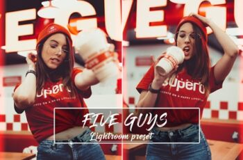 Five Guys Lightroom Preset 4394186