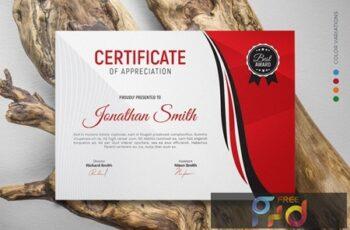 Certificate GUQCC95 3