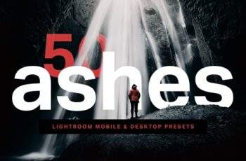 50 Ashes Lightroom Presets and LUTs 4435052