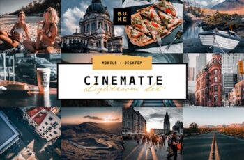 4 Cinematic Lightroom Presets Pack 3861371 5