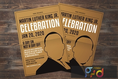 Martin Luther King Jr. Day Flyer 953BH8U 1