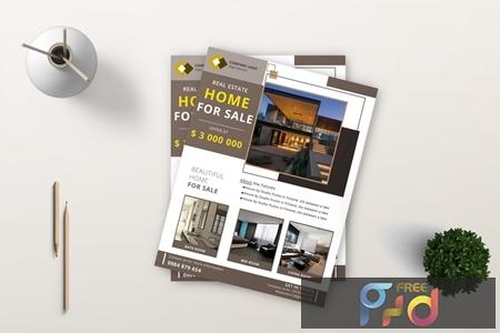Real Estate Flyer 3 5SJNSBB 1