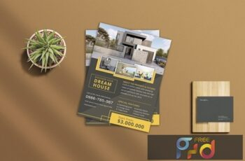 Real Estate Flyer 4 D38M27D 5