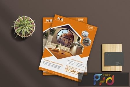 Real Estate Flyer 6 63KGVN6 1