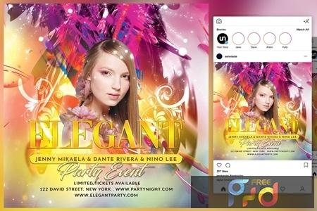 Elegant Party Event Flyer 4443880 1