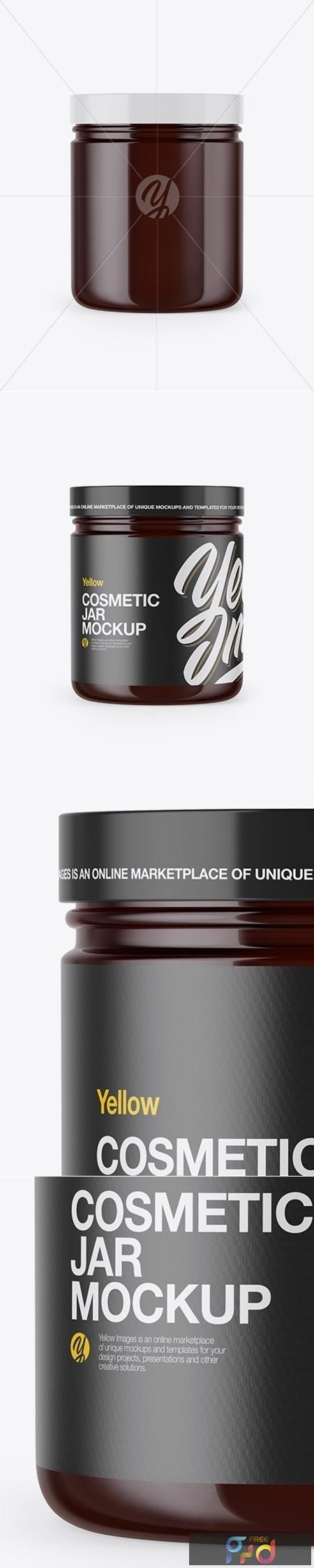 Amber Cosmetic Jar Mockup 53421 1