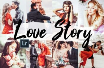 05 Love Story Photoshop Actions, ACR 2450599 4