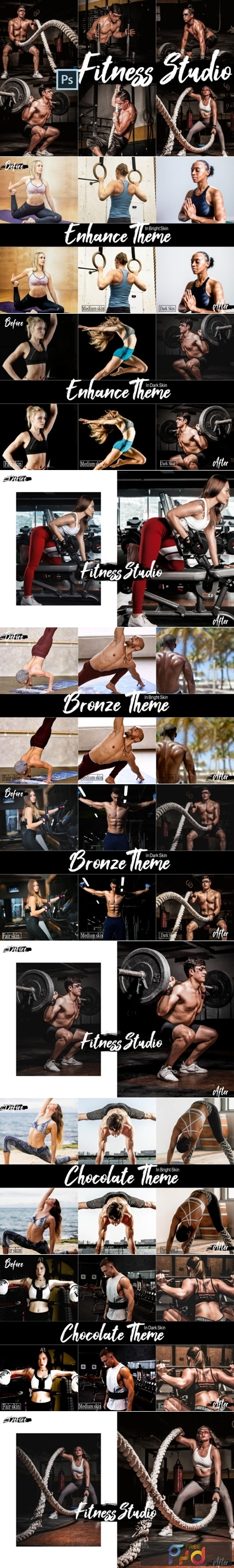 18 Fitness Studio Photoshop Actions 2449418 1