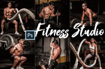 18 Fitness Studio Photoshop Actions 2449418 6