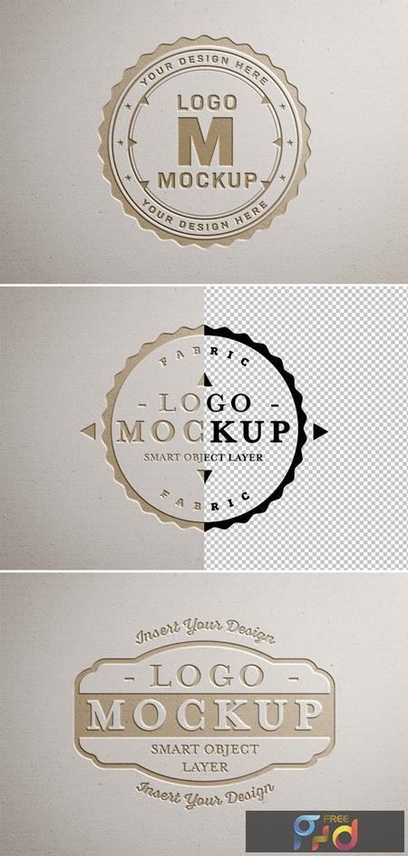 Paper Pressed Logo Mockup 312949841 1