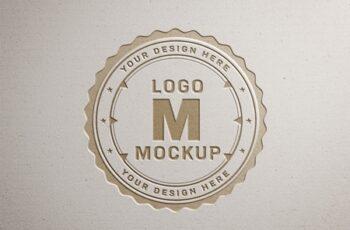 Paper Pressed Logo Mockup 312949841 7