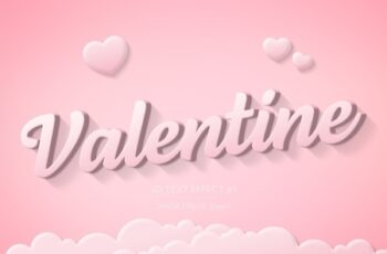 Valentines Day Text Effect Mockup 312949753 11