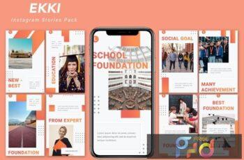 Ekki - Instagram Story Pack DLXPZ4Z 8