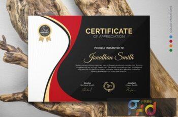 Certificate 8UYM592 4