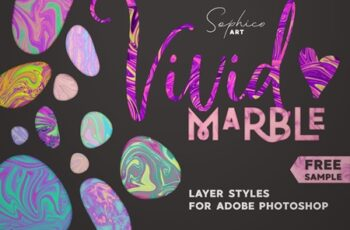 Vivid Marble Effect For Photoshop 3818827 2