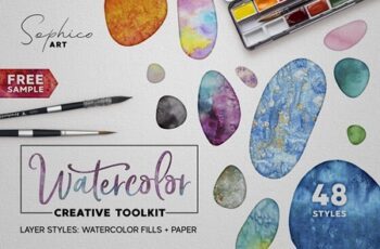 Watercolor Layer Effects Photoshop 3823722 3
