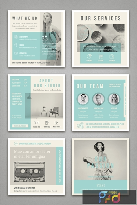 Pale Blue and Light Gray Social Media Square Post Layouts 314311300 1