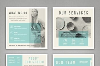 Pale Blue and Light Gray Social Media Square Post Layouts 314311300 2