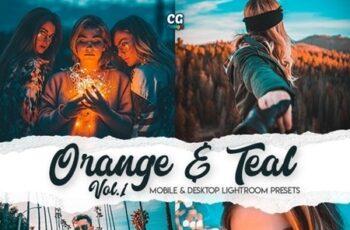 Orange & Teal Lightroom Presets Vol. 1 25489295 4