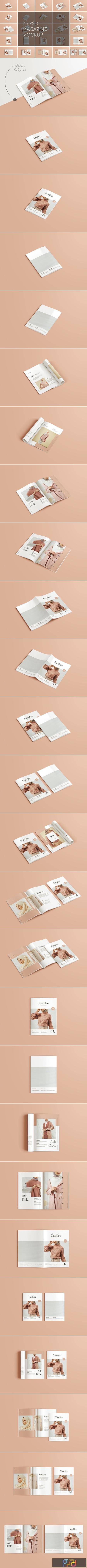 A4 A5 Magazine Brochure Mockup 4330891 1