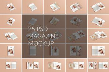 A4 A5 Magazine Brochure Mockup 4330891 3
