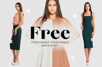Free Female Dress Mockups 431793 5