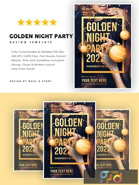 Golden Night Party 4359394 1