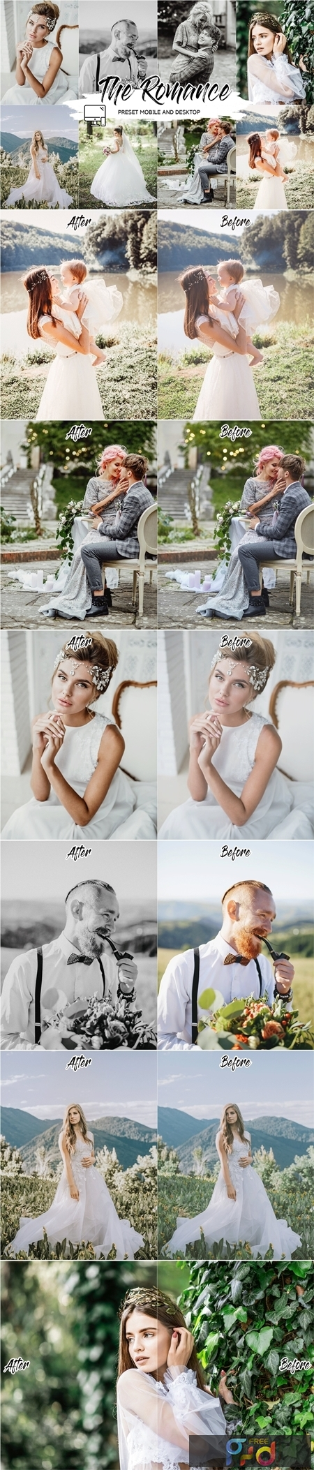 THE ROMANCE LIGHTROOM PRESETS 4433588 1