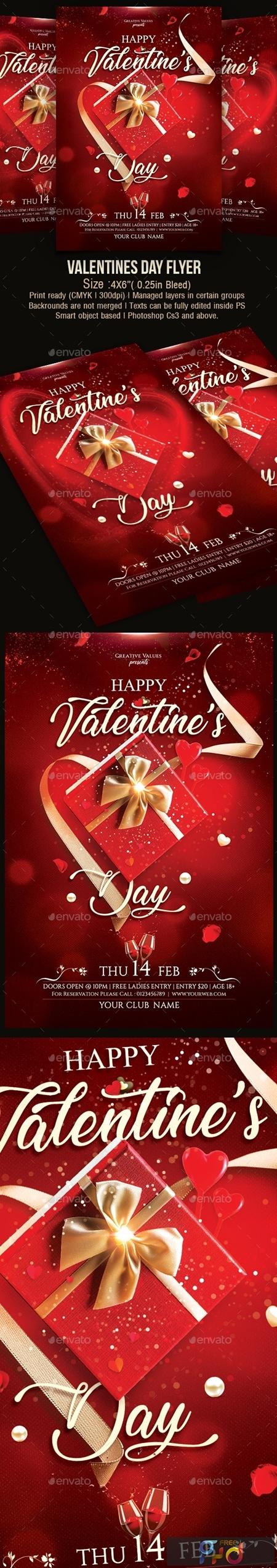 Valentines Day Flyer 23125043 1