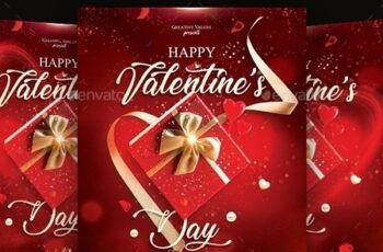 Valentines Day Flyer 23125043 3