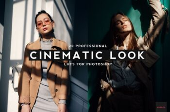 20 Professional Cinematic Look LUTS 4436129 3