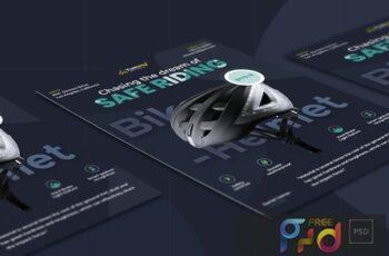 Bike Helmet Template GXAD2HK 3