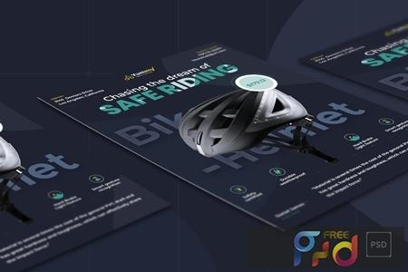 Bike Helmet Template GXAD2HK 1