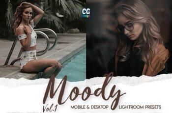 Moody Vol. 1 - 15 Premium Lightroom Presets 25545408 5