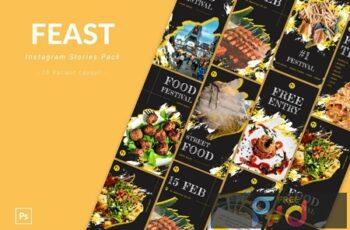 Feast - Instagram Story Pack DHG848N 8
