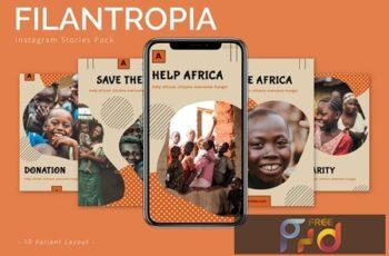 Filantropia - Instagram Story Pack E3HF4Z8 5