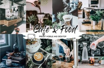 CAFE & FOOD FILM LIGHTROOM PRESETS 4433385 7