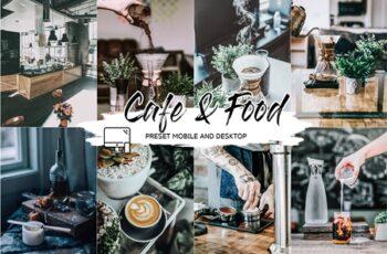 CAFE & FOOD FILM LIGHTROOM PRESETS 4433385 2
