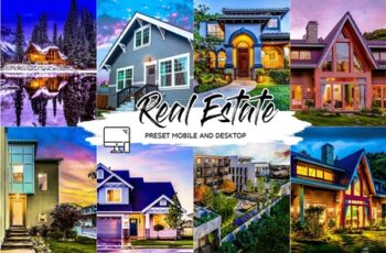 REAL ESTATE LIGHTROOM PRESETS 4439213 4