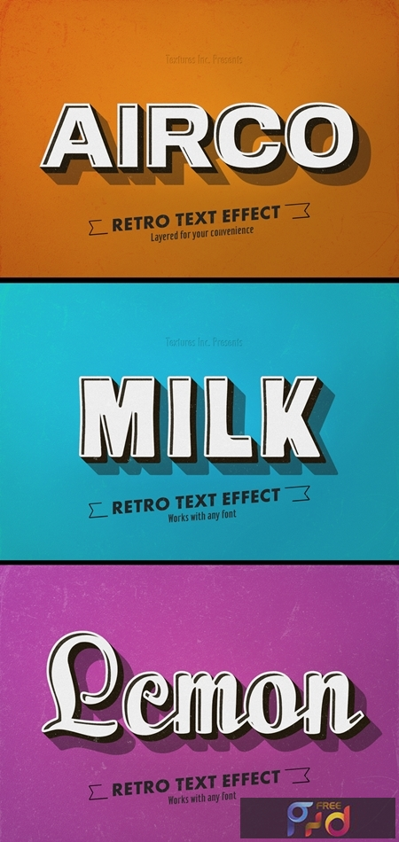 Retro Text Effect 314535211 1
