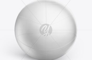 Volleyball Ball Mockup 53490 4