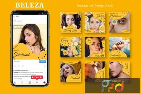 Beleza - Instagram Feeds Pack 7HK4K5X 1
