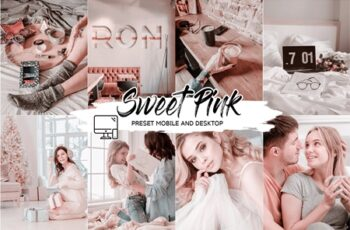 SWEET PINK LIGHTROOM PRESETS 4433553 2