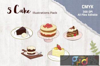 Cake Illustration 2J568DF 4